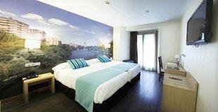 HabitaciÓn doble con vistas ele enara boutique hotel valladolid
