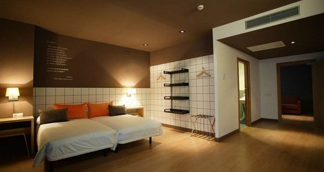 Habitaciones doble ele hotelandgo arasur rivabellosa