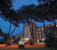 ele green park hotel pamphili roma, italia