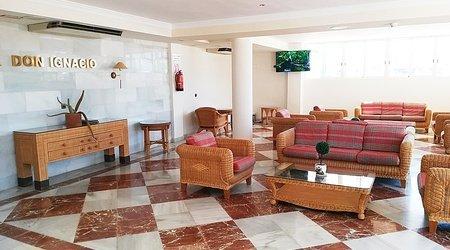 Zonas comunes hotel ele don ignacio san josé, almería