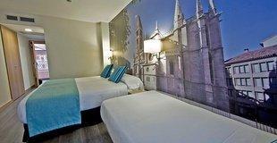 HabitaciÓn triple ele enara boutique hotel valladolid