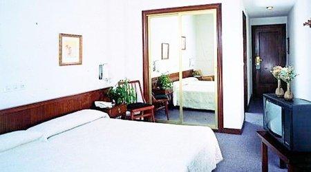 Habitación hotel ele acueducto segovia