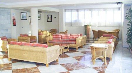 Sala de estar hotel ele don ignacio san josé, almería