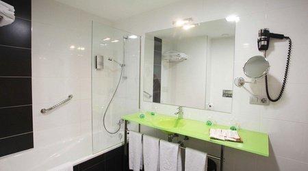 Baño habitación familiar ele enara boutique hotel valladolid