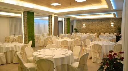 Salón de eventos interno ELE Green Park Hotel Pamphili