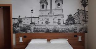 Habitaciones estÁndar ele green park hotel pamphili roma, italia