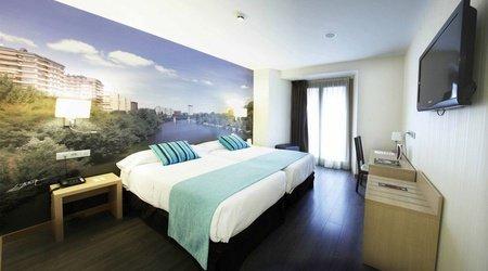 Habitación estándar con vistas ele enara boutique hotel valladolid