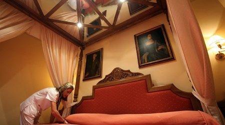 HabitaciÓn junior suite hotel ele puerta de monfragüe malpartida de plasencia