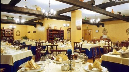 Restaurante asador hotel ele puerta de monfragüe malpartida de plasencia
