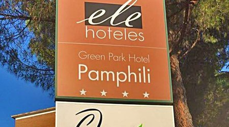Restaurante ELE Green Park Hotel Pamphili